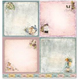 """Designer Papier Scrapbooking: 30,5 x 30,5 cm Papier Le papier de design """"Enfant 1"""""""