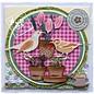 Joy!Crafts / Hobby Solutions Dies Joy Crafts, coups de poing - et le modèle de gaufrage Spring Love, pots de fleurs