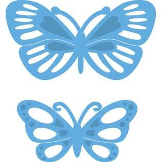 Marianne Design Skæring og prægning stencils, LR0357, Creatables, Tiny s sommerfugle