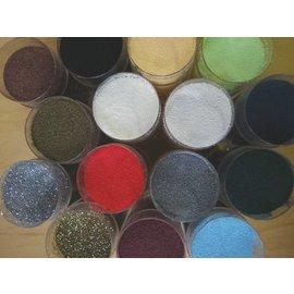 FARBE / STEMPELINK Embossingspulver, 1 krukke 28 ml, udvælgelse af mange farver