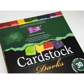 Stempel / Stamp: Transparent ColorCore Cardstock, A4, 30 Bögen, Darks
