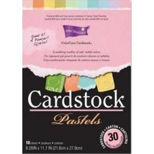 Stempel / Stamp: Transparent ColorCore cardstock, A4, 30 sheets, Pastels
