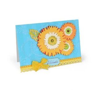 Sizzix ThinLits, daisy buket