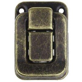 Embellishments / Verzierungen Scrapbog låse, 2 stk, 4 x 2,8 cm