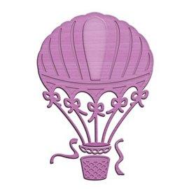 Spellbinders und Rayher Spellbinders, Stanz- und Prägeschablone Up and Away, Luftballon