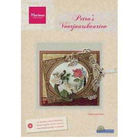 Bücher und CD / Magazines Tijdschrift, Petra's Lente Kaarten door Marianne Design (NL)