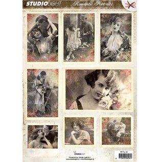Studio Light Gestantzte A4 3D sheet - Romantic Picture