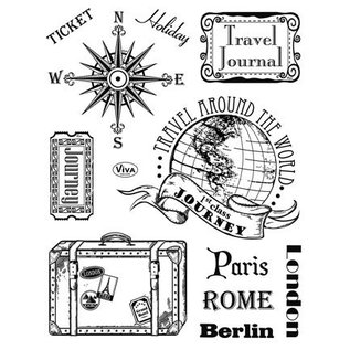 My paperworld (Viva Decor) Clear stamps, Paris-Rome-Berlin