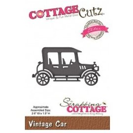 Cottage Cutz Corte e estampagem stencils, CottageCutz, Carro Antigo
