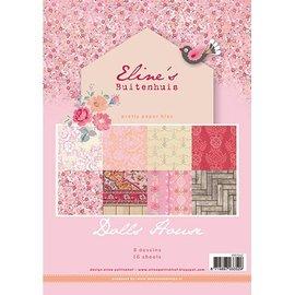 DESIGNER BLÖCKE / DESIGNER PAPER Jolies Papers - A4 - Maison de poupée de Eline