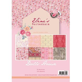 DESIGNER BLÖCKE / DESIGNER PAPER Pretty Papers - A4 - Eline's Doll House