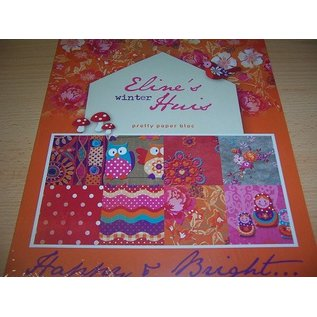 DESIGNER BLÖCKE / DESIGNER PAPER Pretty Papers - A4 - Eline's winter House