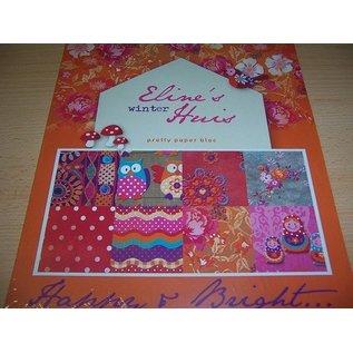 DESIGNER BLÖCKE / DESIGNER PAPER Smukke Papers - A4 - Eline vinter House