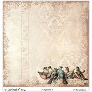 "Designer Papier Scrapbooking: 30,5 x 30,5 cm Papier Design papir ""Baggrund"" 4"