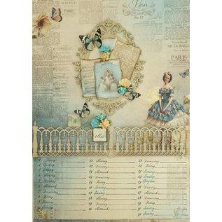 """Designer Papier Scrapbooking: 30,5 x 30,5 cm Papier Designpapier """"Vintage""""01"""