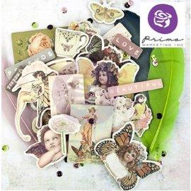"Prima Marketing und Petaloo Spånplader Stickers, indsamling ""Butterfly"""