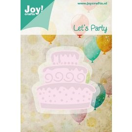 Joy!Crafts / Jeanine´s Art, Hobby Solutions Dies /  Stamping and embossing stencil template Let's Party