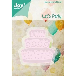 Joy!Crafts / Hobby Solutions Dies Stempelen en Party embossing stencil sjabloon Laten we