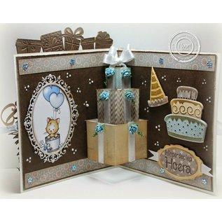 Joy!Crafts / Hobby Solutions Dies Stempling og prægning stencil skabelon Lad os Party
