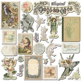 Prima Marketing und Petaloo Prima Marketing, truciolato, Natura Giardino, 24 pezzi