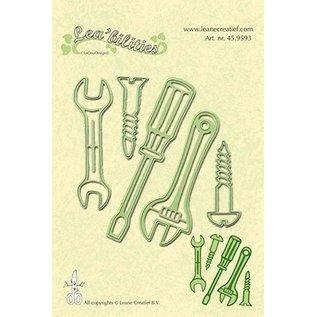 Leane Creatief - Lea'bilities Leabilities, stempling - og prægning stencil værktøj