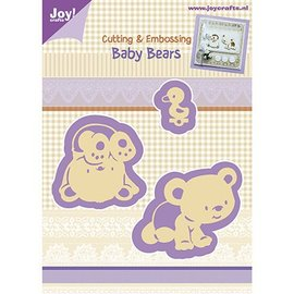 Joy!Crafts / Hobby Solutions Dies Punching and Prägeschabloen, Baby Bear