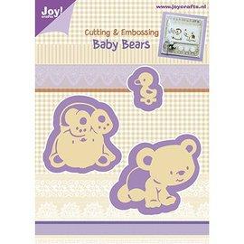 Joy!Crafts / Hobby Solutions Dies Punzonado y Prägeschabloen, oso del bebé