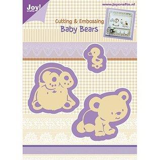 Joy!Crafts / Jeanine´s Art, Hobby Solutions Dies /  Stansning og Prägeschabloen, Baby Bjørn