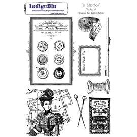IndigoBlu Stamp A5: nos pontos, 200x140mm