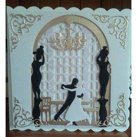 Docrafts / X-Cut Stansejern, 3D-billede design med skærematricer (5 stk) - Ballroom