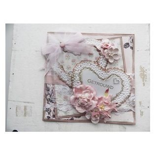 Marianne Design Cutting and embossing stencils, Craftables - Topiary Heart