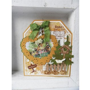 Marianne Design Cutting en embossing stencils, Craftables - Topiary Hart