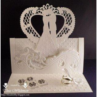 Marianne Design Skæring og prægning stenciler Creatables - bryllupspar