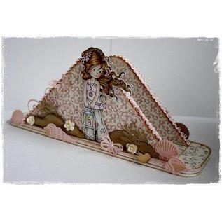 Objekten zum Dekorieren / objects for decorating Let's get Bizzee Serviettenhalter