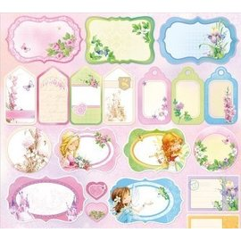 Wild Rose Studio`s Designerpapier, Dream Land Cards and Labels