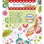 Textil Lennie Flennerie, Stoff 50x70cm, Schmetterlinge