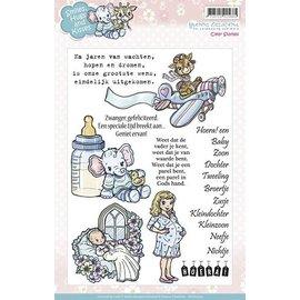 Stempel / Stamp: Transparent Selos claros, motivos bonitos do bebê