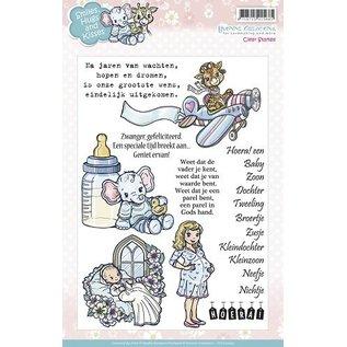 Stempel / Stamp: Transparent Klare stempler, Sød baby motiver
