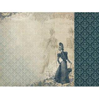 "Designer Papier Scrapbooking: 30,5 x 30,5 cm Papier 3 Bogen, Designerpapier ""Couture Kollektion Edition I"", Kaisercraft, 30,5 x 30,5cm + 1 Basiskarte"