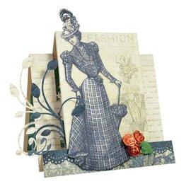 "Designer Papier Scrapbooking: 30,5 x 30,5 cm Papier 3 boog, ontwerper document ""Couture Collectie Edition I"" Kaisercraft, 30,5 x 30,5 cm + 1 basiskaart"