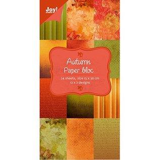 Joy!Crafts / Hobby Solutions Dies Designere blok af Joy Crafts, 15x30cm - Efterår