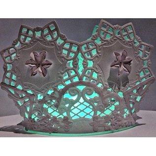 Marianne Design Skæring og prægning stencils Creatables, Doily firkantet