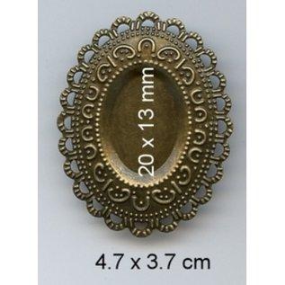 Embellishments / Verzierungen Breloques, 3 pièces