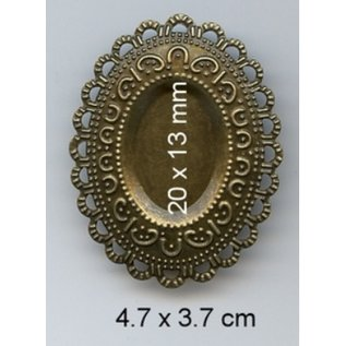 Embellishments / Verzierungen Charms, 3 Stück