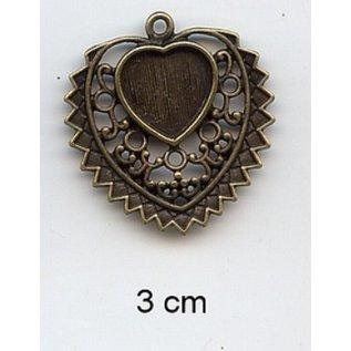 Embellishments / Verzierungen Charms, 2 Stück