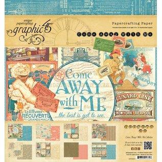 "GRAPHIC 45 Designerblock 20 x 20cm, von Graphic 45 ""Come Away With Me"""