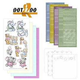 Sticker Autocollant Craft Kit: Dot & Do, Baby Animals