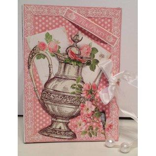 """GRAPHIC 45 Ontwerper Paper """"Botanische Tea"""", 30,5 x 30,5 cm"""