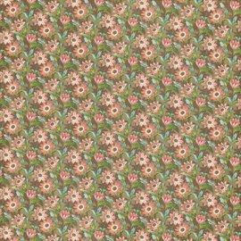 """GRAPHIC 45 Designer Paper """"Tea Botânico - Campo de Flores"""", de 30,5 x 30,5 cm"""