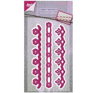 Joy!Crafts / Jeanine´s Art, Hobby Solutions Dies /  Stempling og prægning stencil, 3 kant
